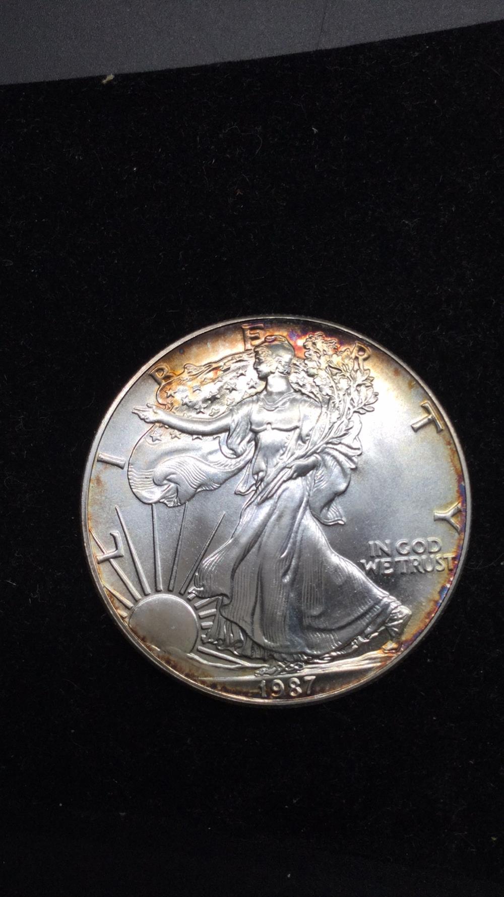 1987 dollar coin