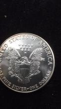 Lot 41: American eagle dollar
