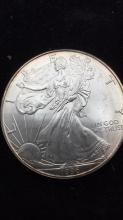 Lot 42: American eagle dollar