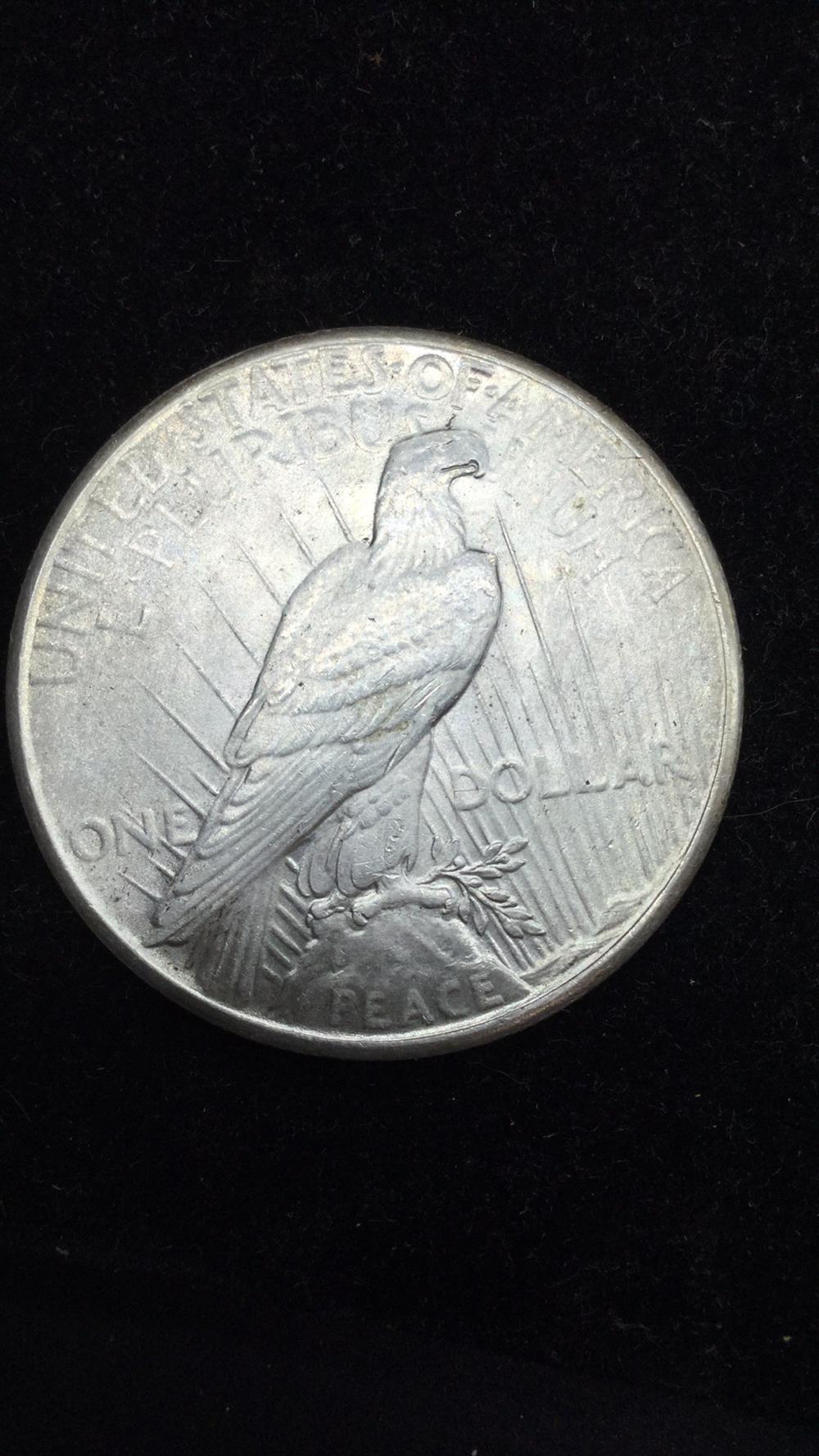 Lot 44: Peace Dollar