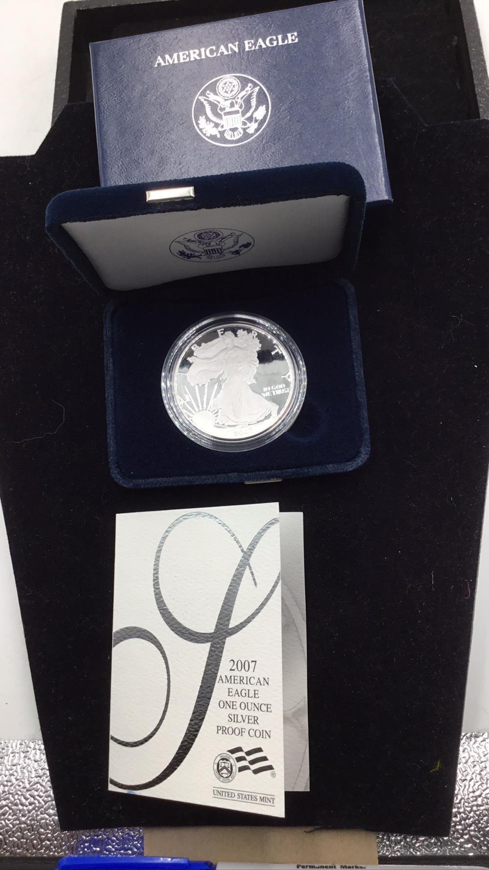 American eagle 1 ounce silver proof Dollar