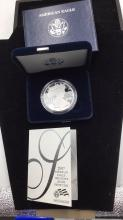 Lot 45: American eagle 1 ounce silver proof Dollar