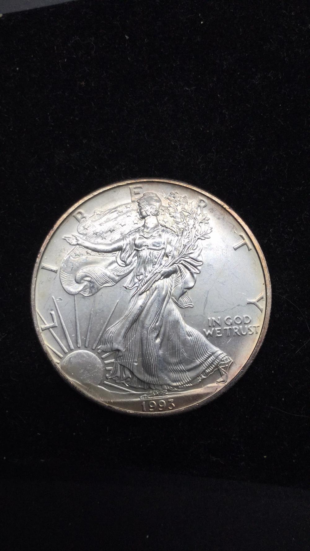 1993 American eagle dollar