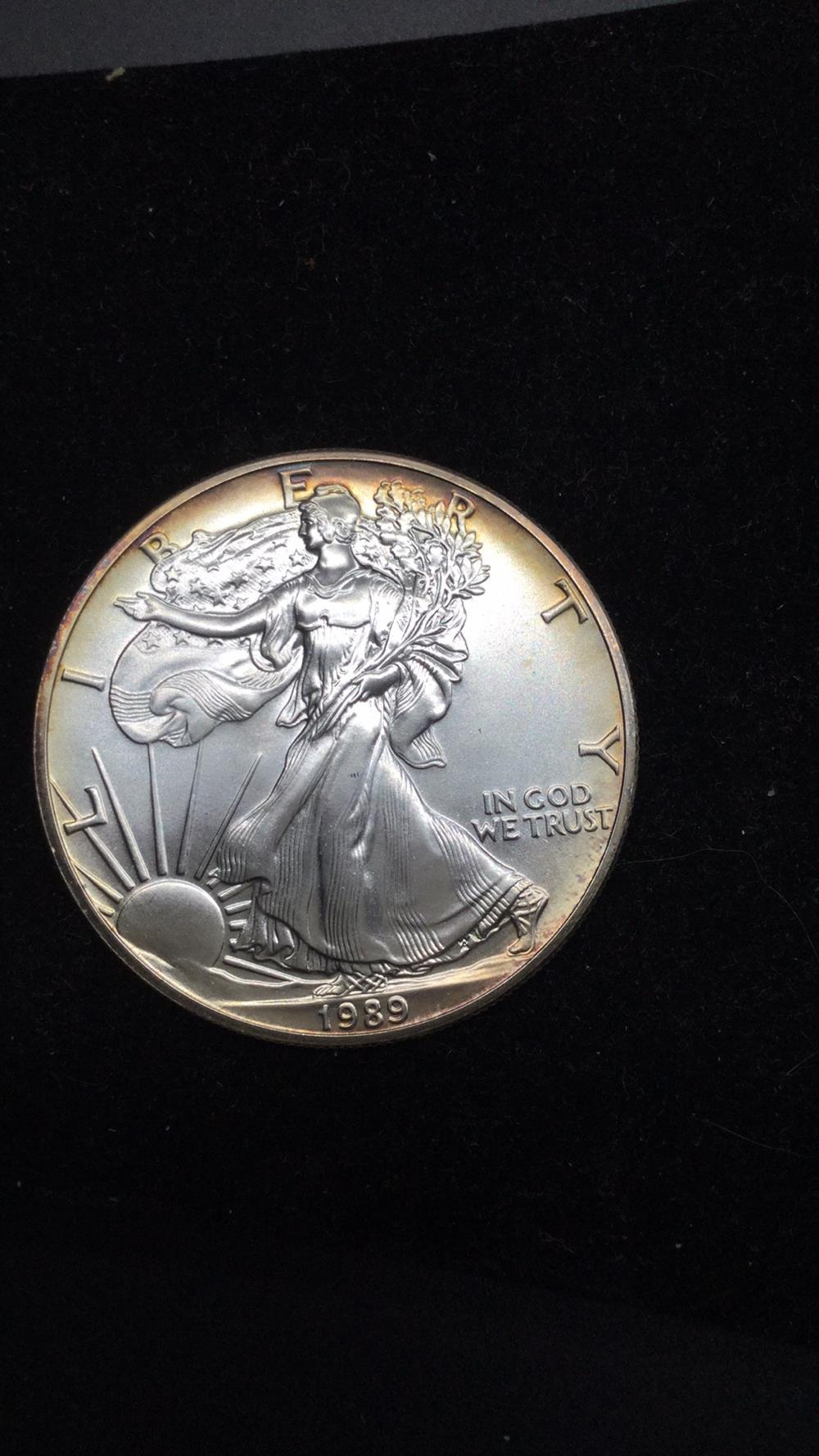 1989 American eagle dollar