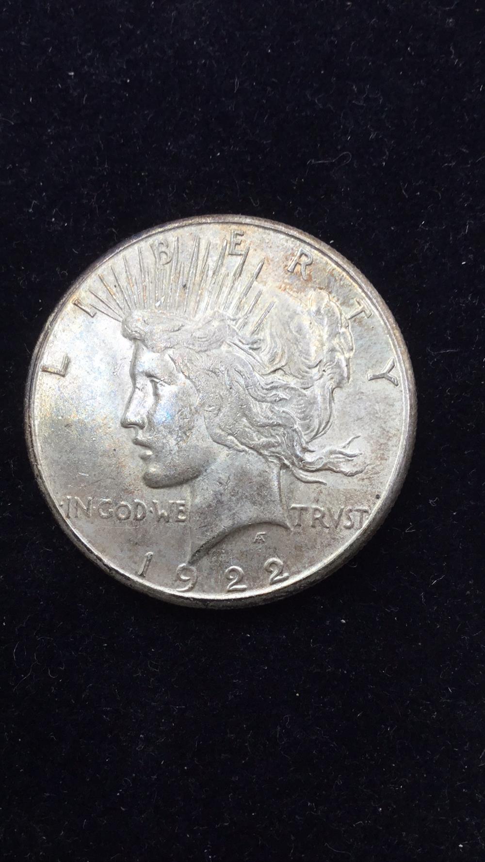 Lot 53: Peace dollar