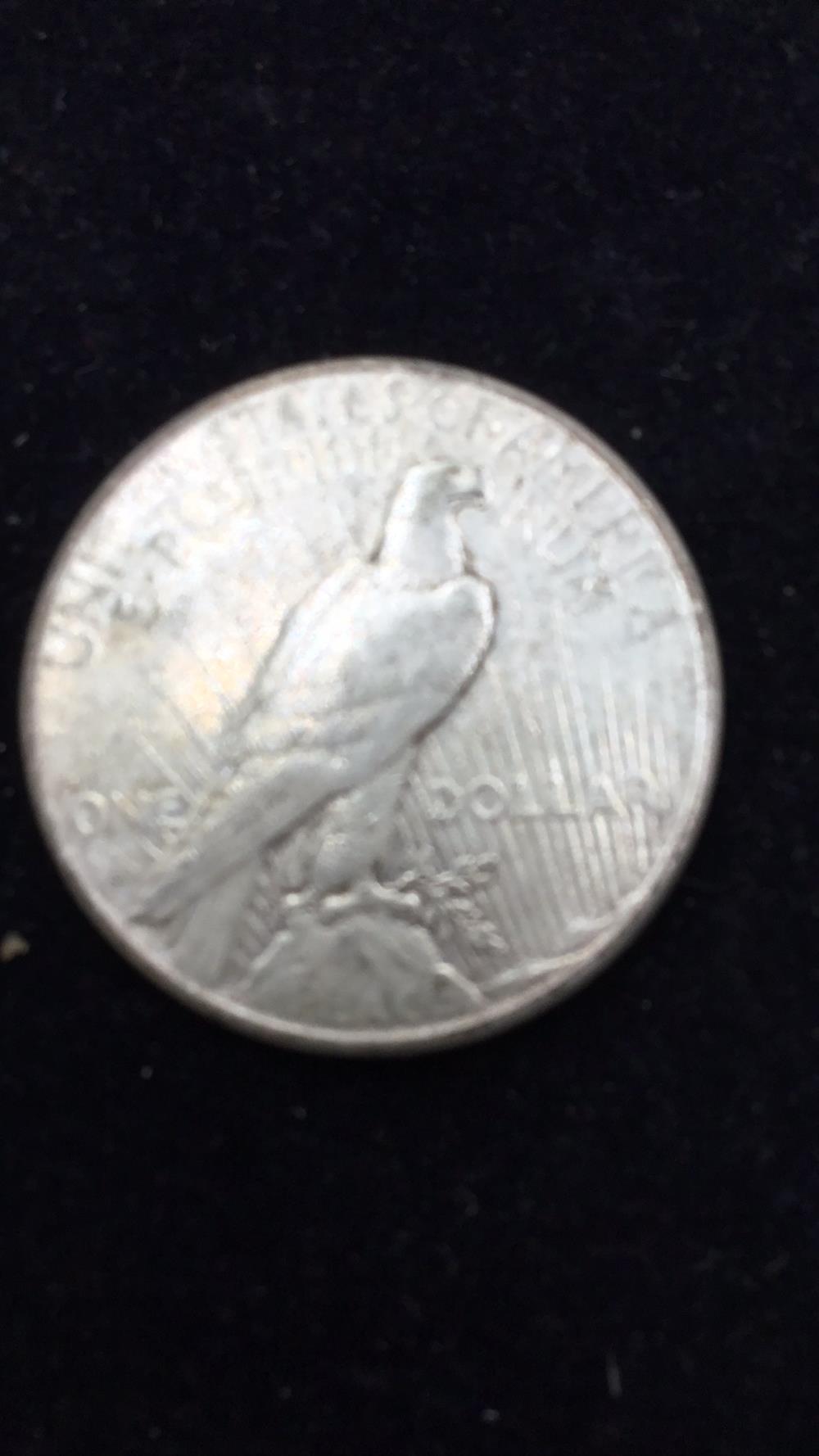 Lot 59: Peace dollar