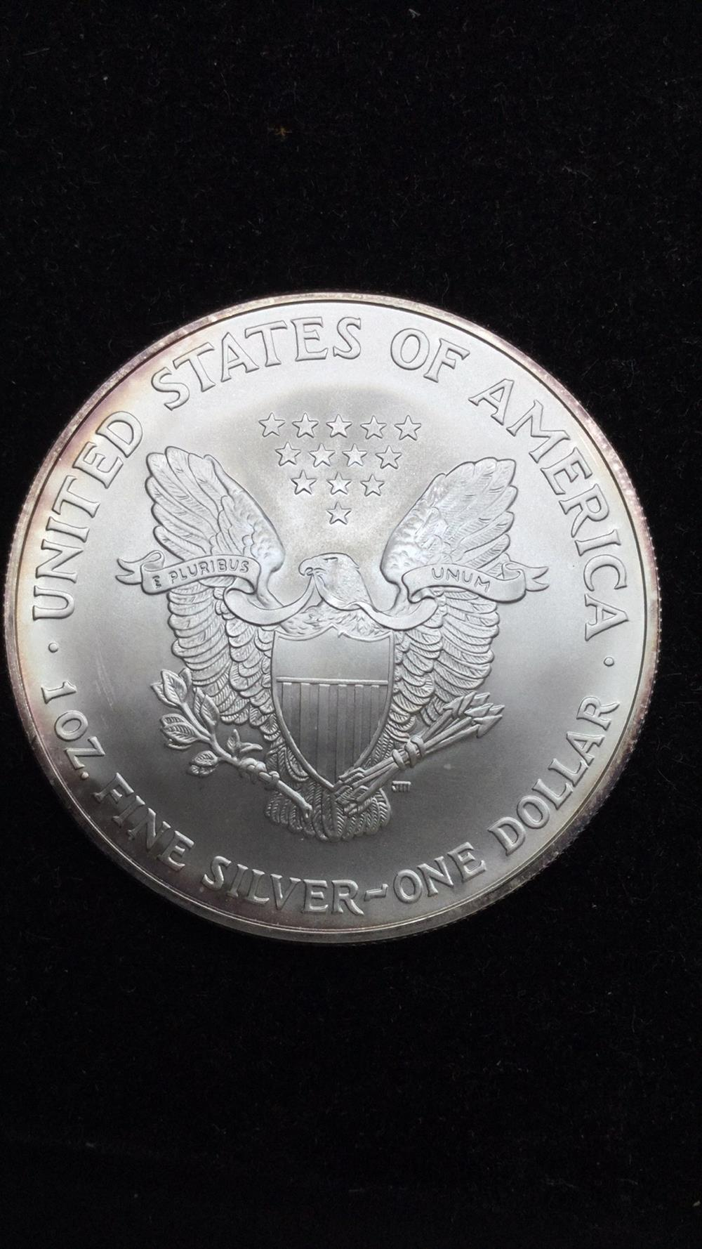 Lot 60: 2005 American eagle dollar coin