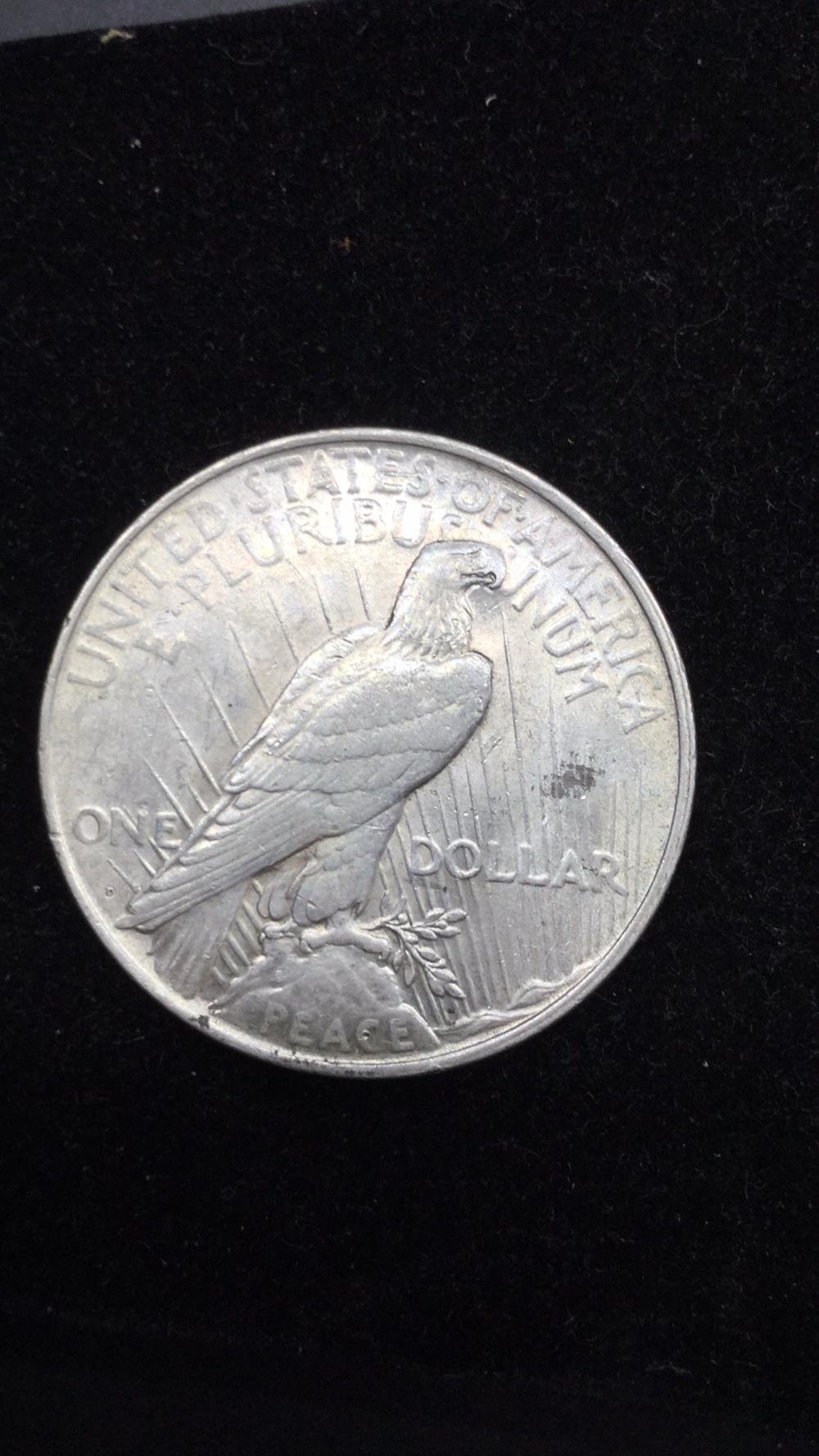 Lot 66: 1927p peace dollar