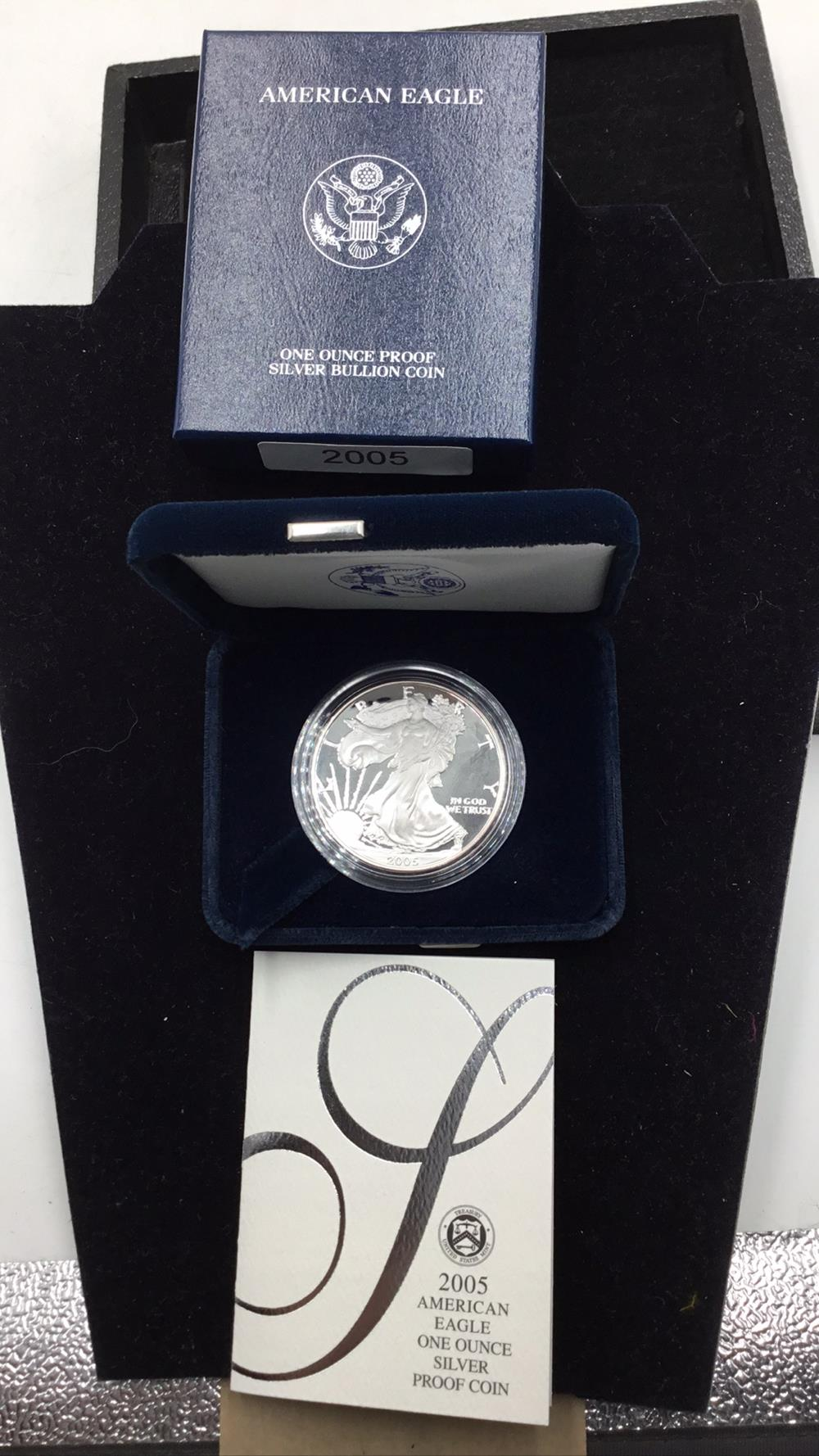 United states mint American eagle 1 ounce silver