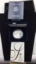 Lot 68: United states mint American eagle 1 ounce silver