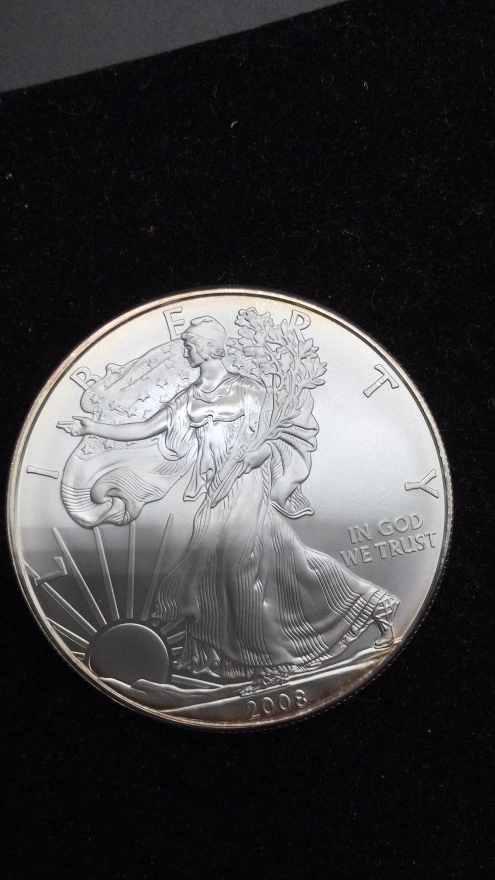 2008 American eagle dollar coin