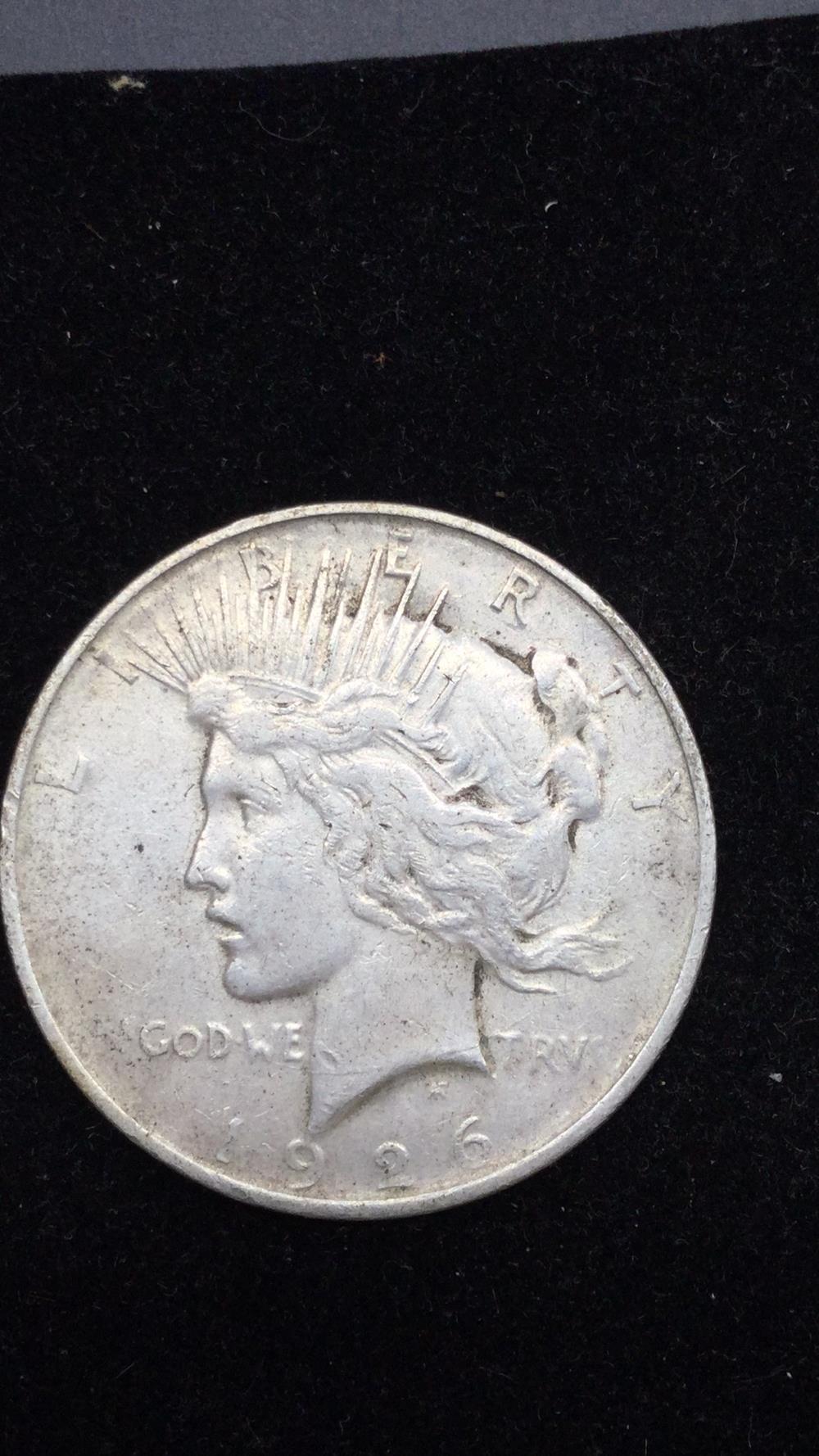 Lot 70: 1926P peace dollar