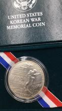 Lot 81: United states Korean war Memorial coin
