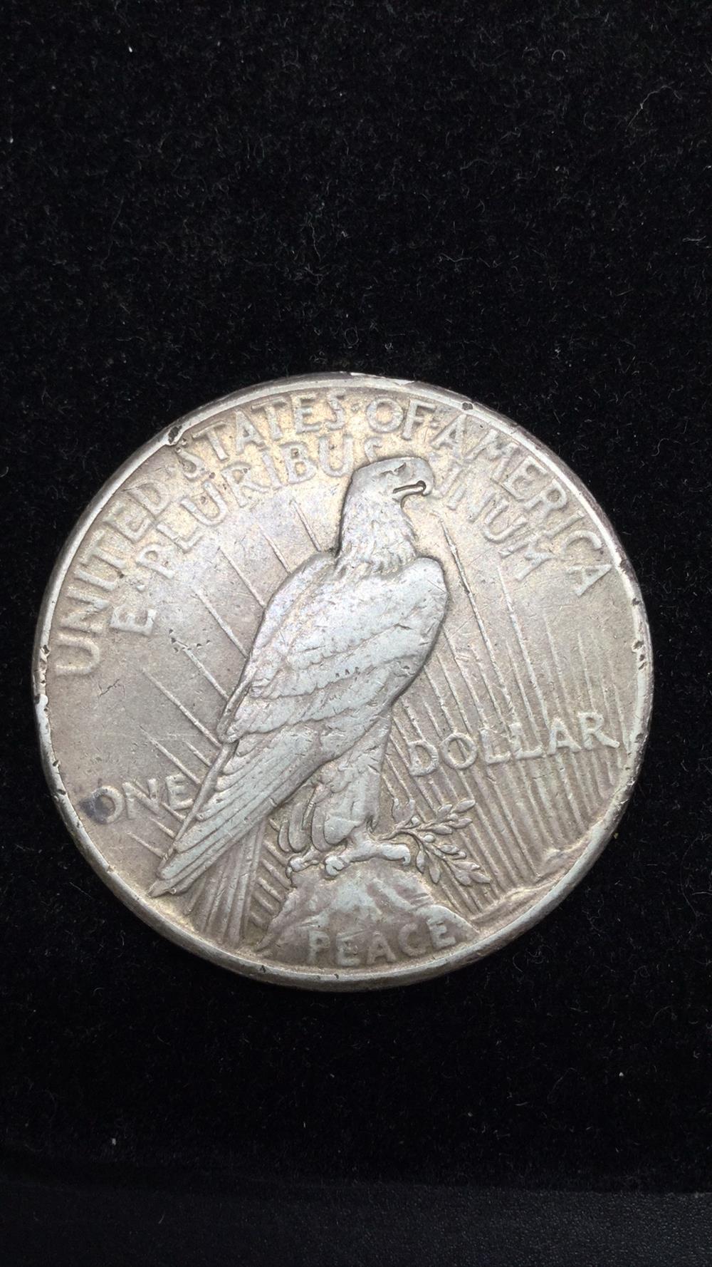 Lot 83: 1927 peace Dollar