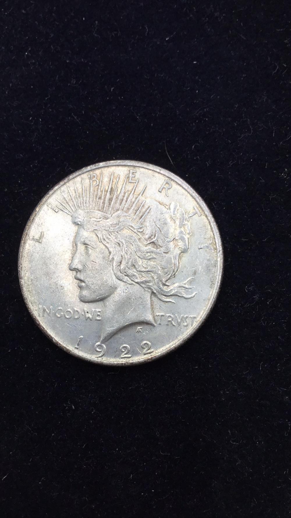 Lot 85: Peace dollar