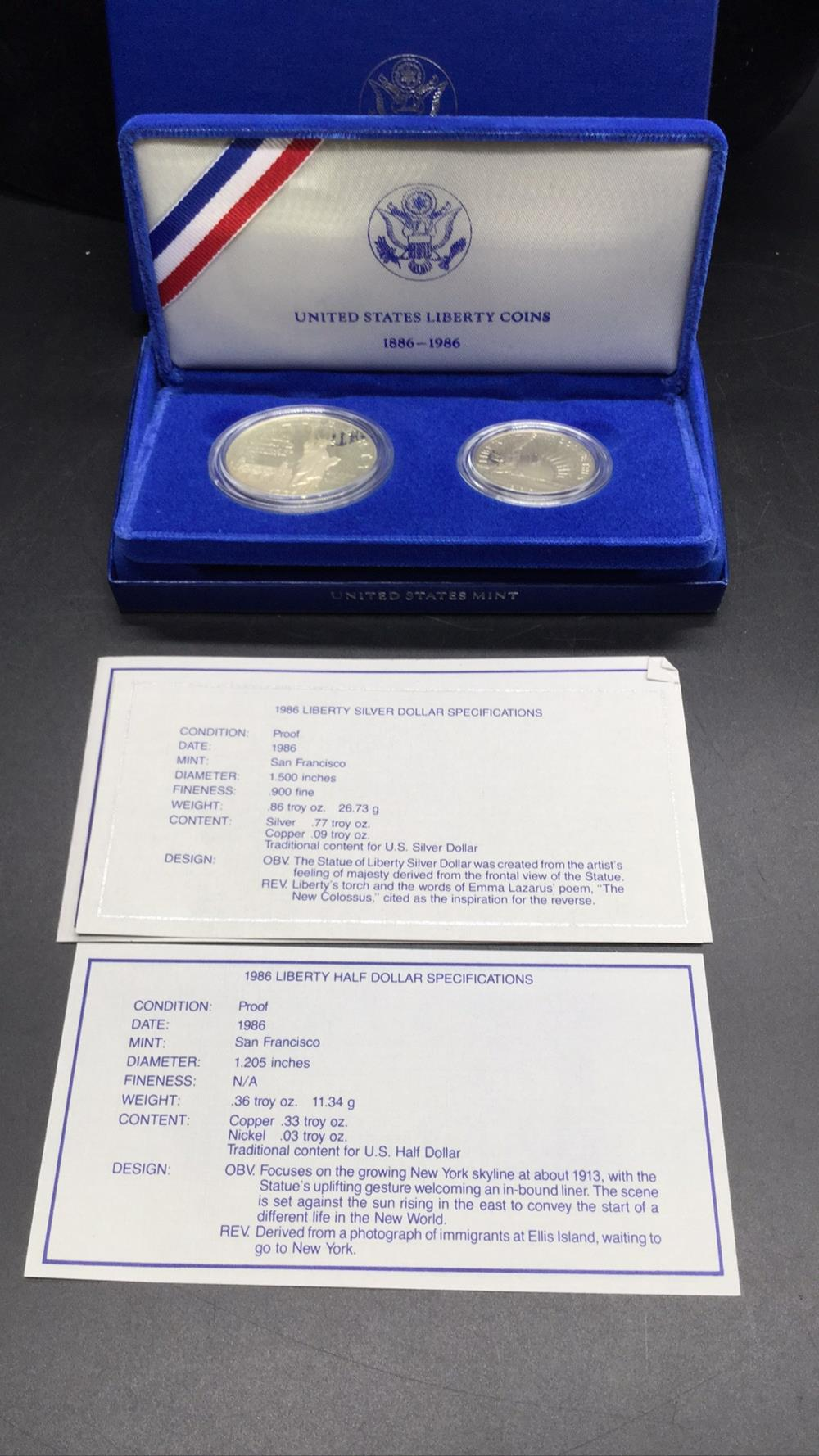 United States liberty coin set