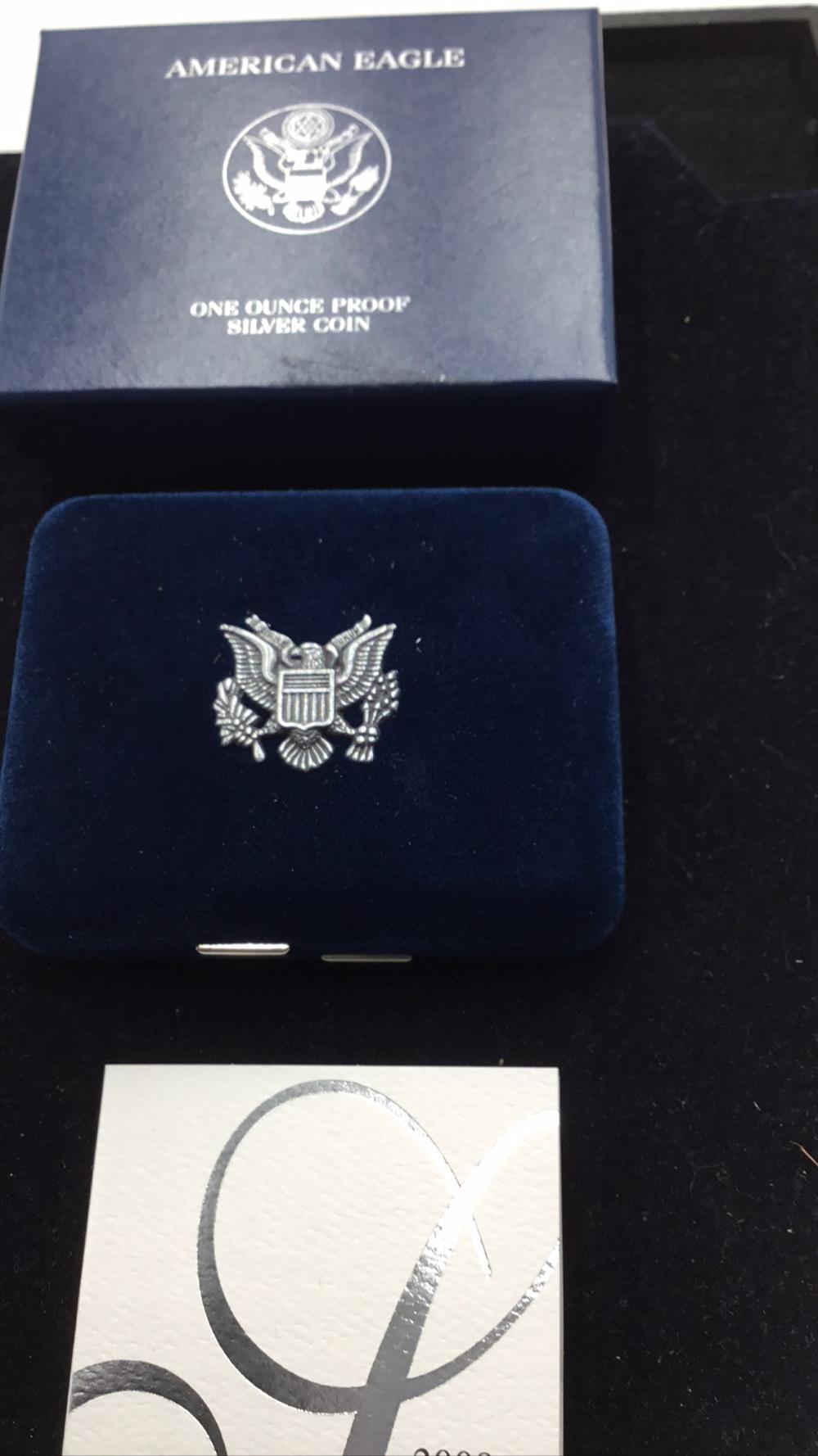 Lot 100: United states meant American Eagle one else