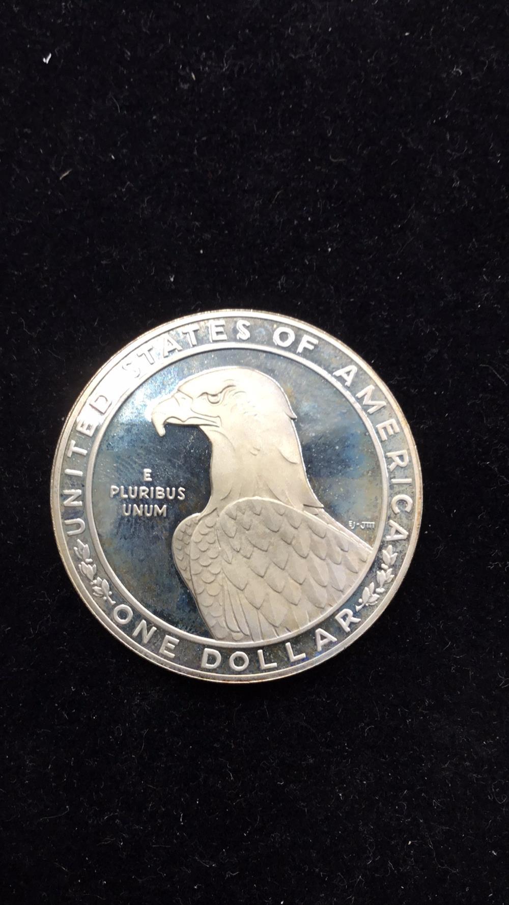 Lot 104: Los Angeles Olympic Dollar