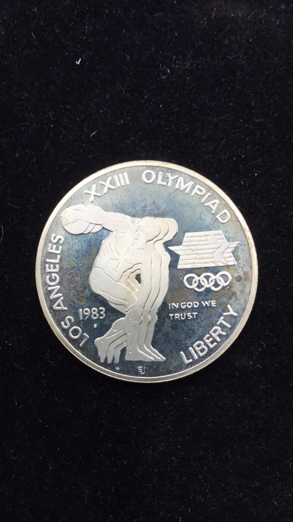 Los Angeles Olympic Dollar