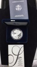 Lot 107: United states mint American eagle 1 ounce silver