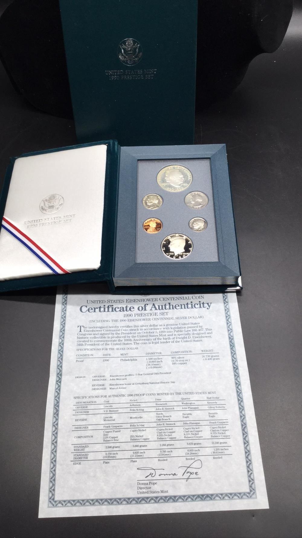 1990 prestige coin set