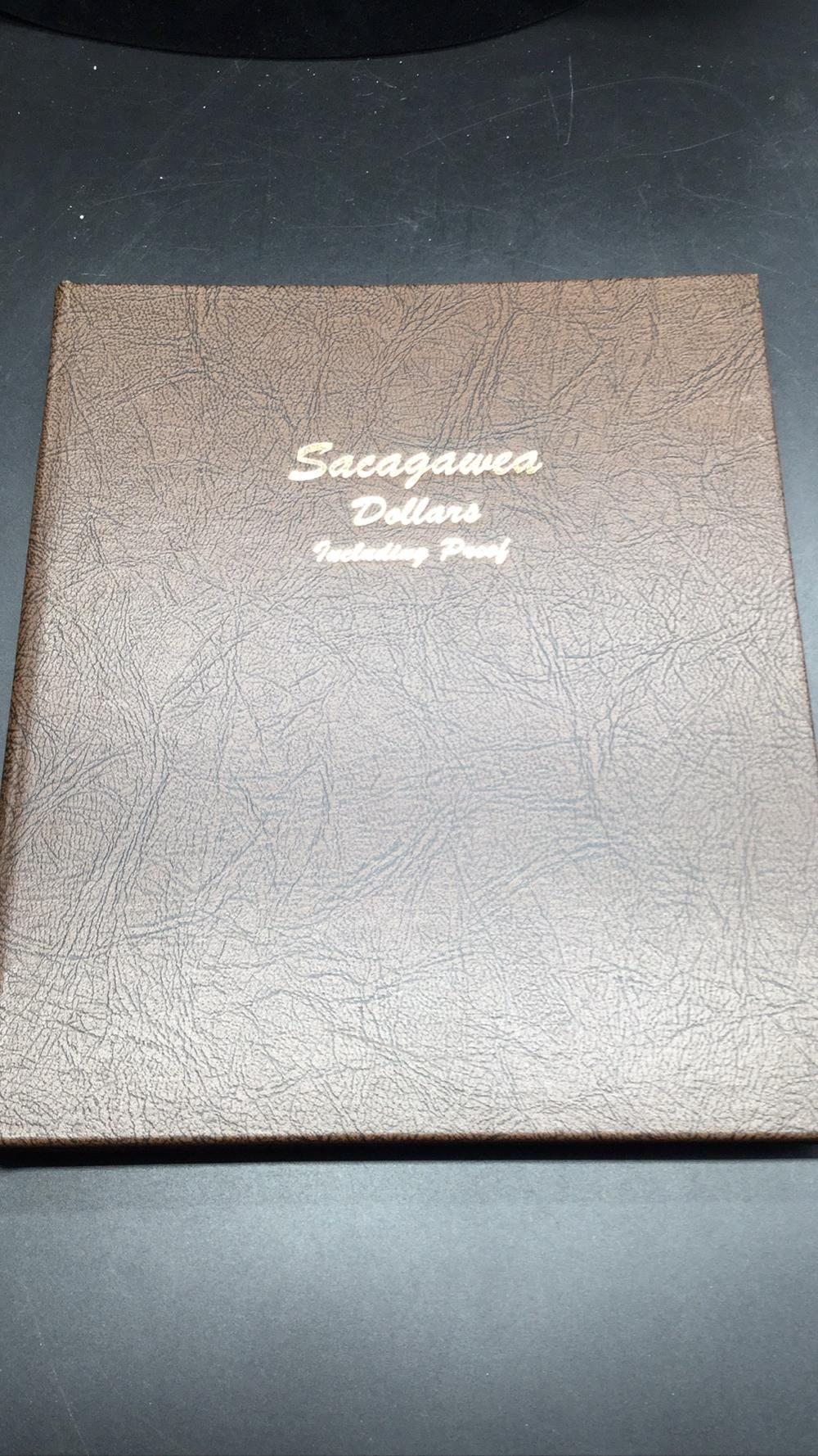 Sacajawea dollars including proof book
