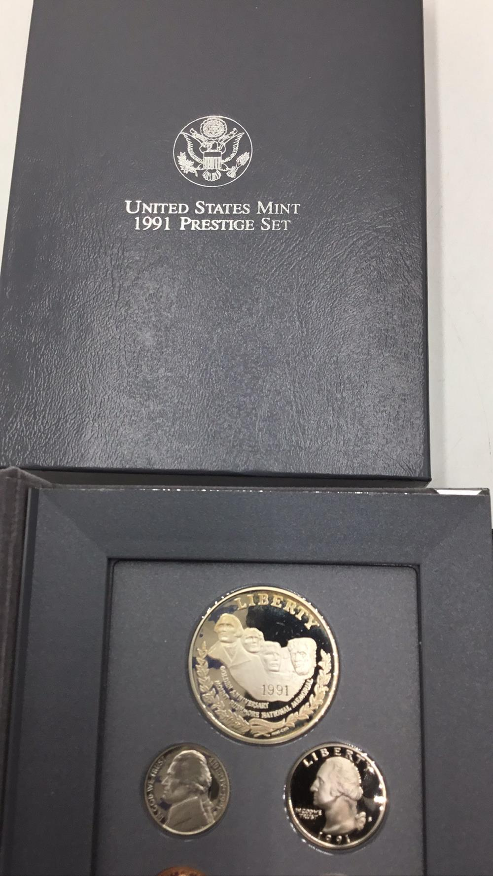 Lot 122: United states mint Mount Rushmore anniversary