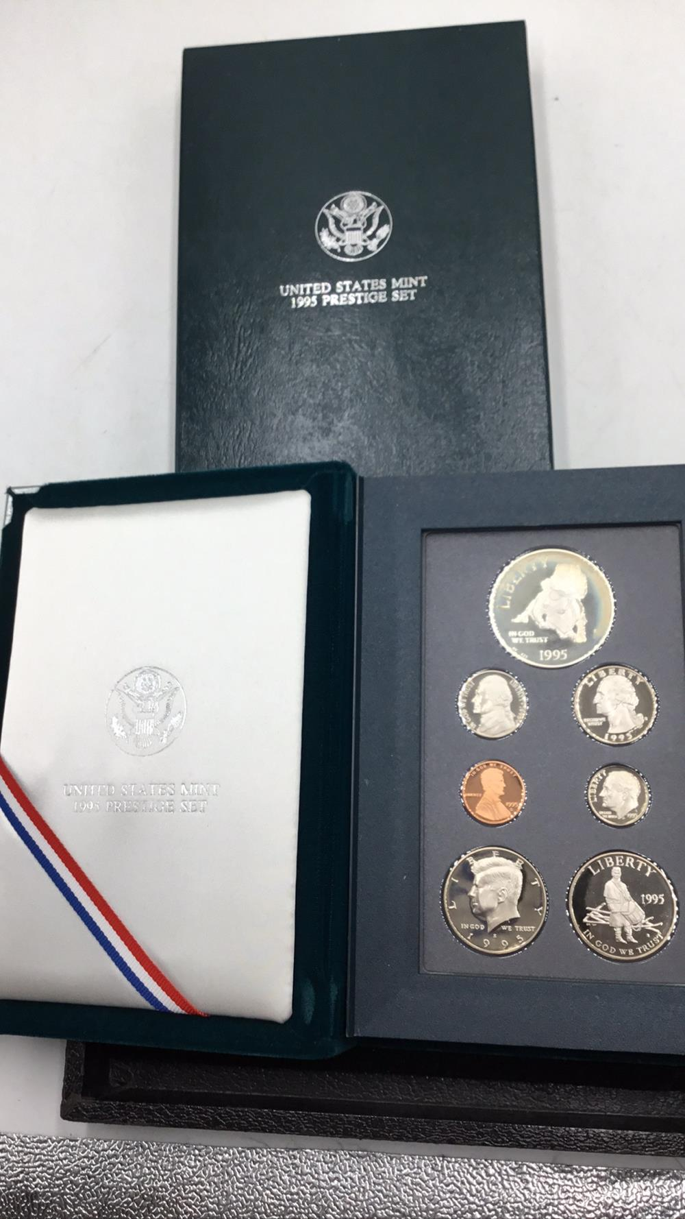 United states mint Prestige set, silver war