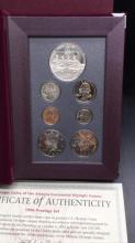 Lot 126: 1996 prestige coin set