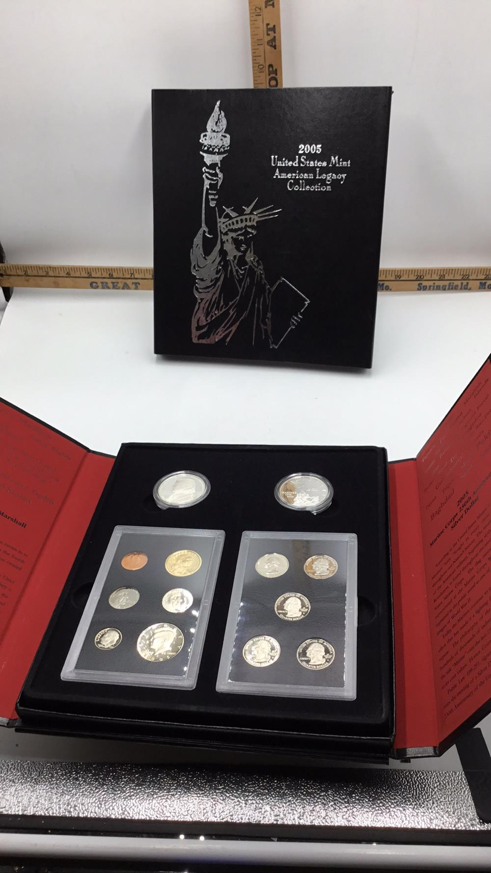 Lot 128: United States mint American legacy collection