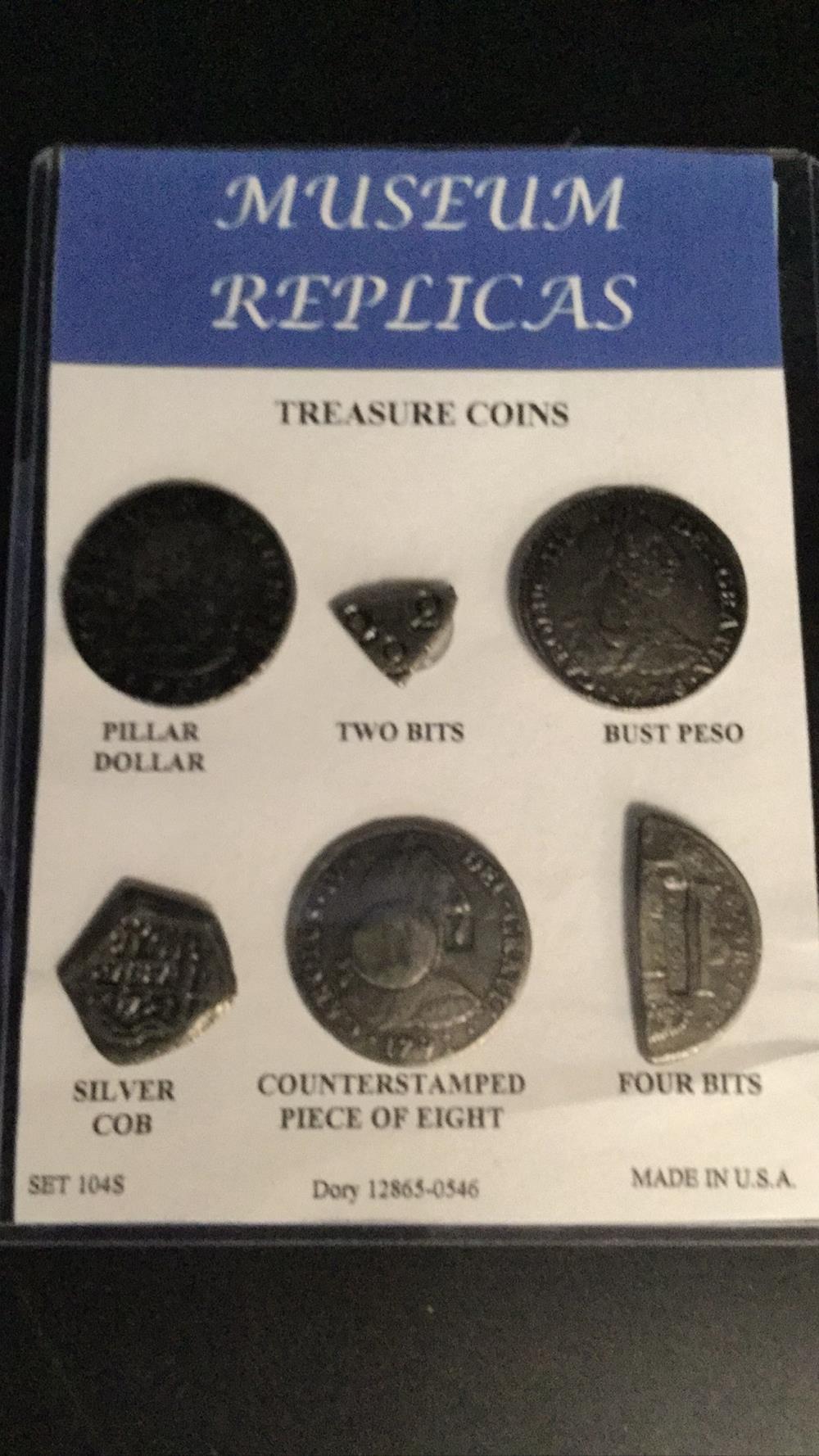 Lot 136: Museum replica coins