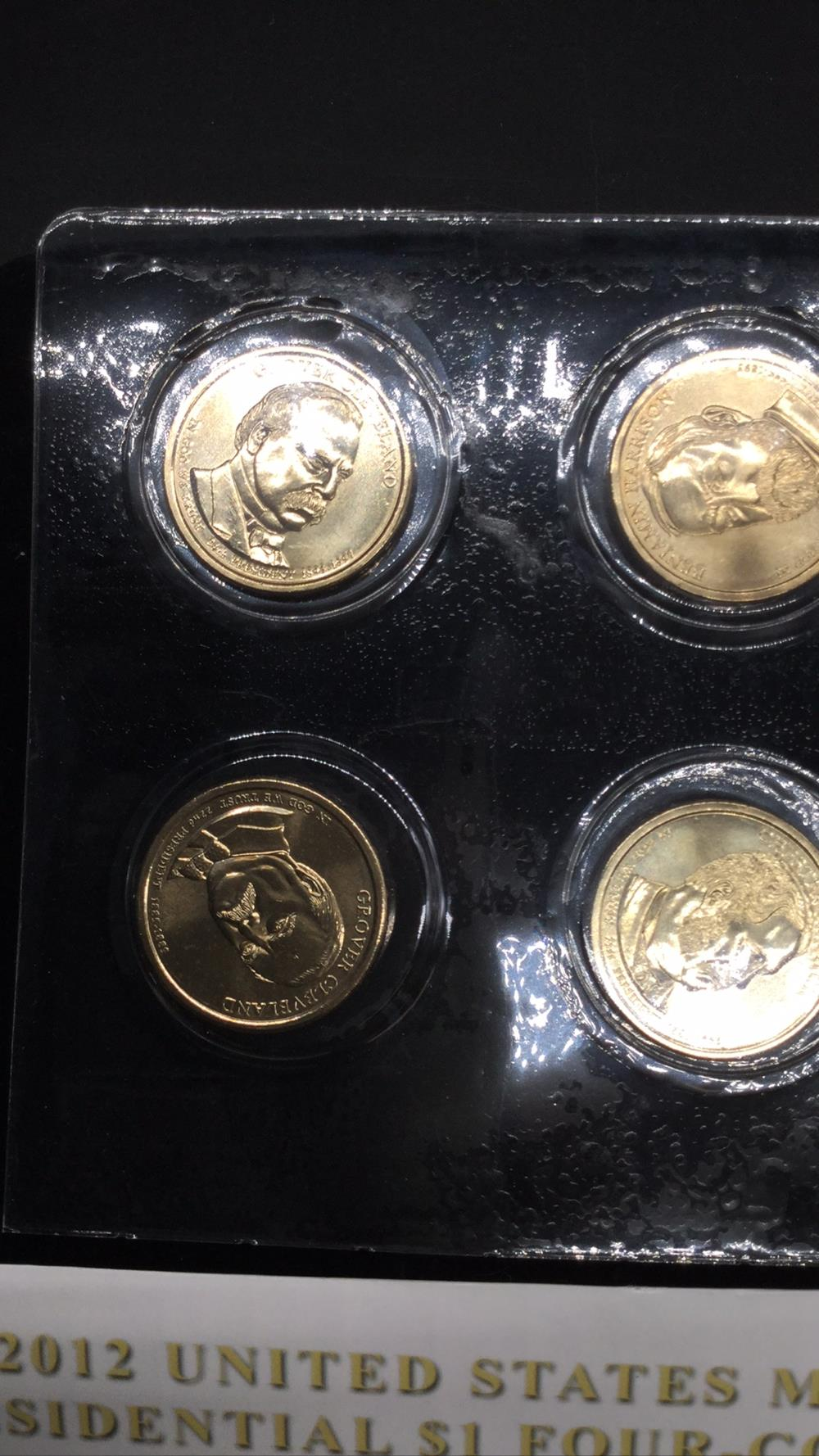 2012 United States mint presidential coin set