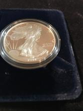 Lot 155: 1994 silver American eagle one dollar coin proof