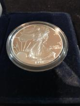 Lot 158: 1998 silver American eagle one dollar coin mint