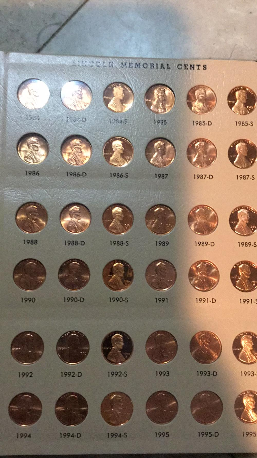 Lot 160: Lincoln Book Of Pennies