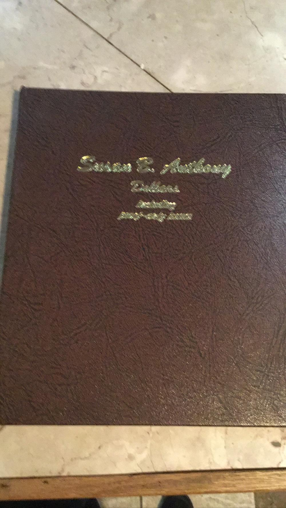 Susan B Anthony dollars book