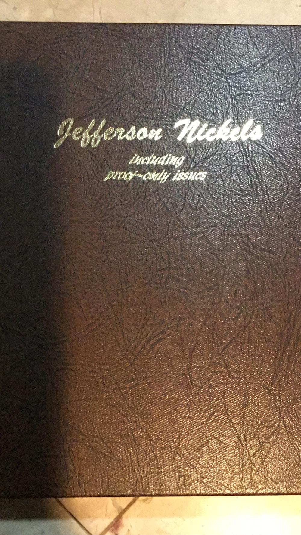 Jefferson nickel book