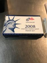 Lot 170: 2008 United States mint proof set with