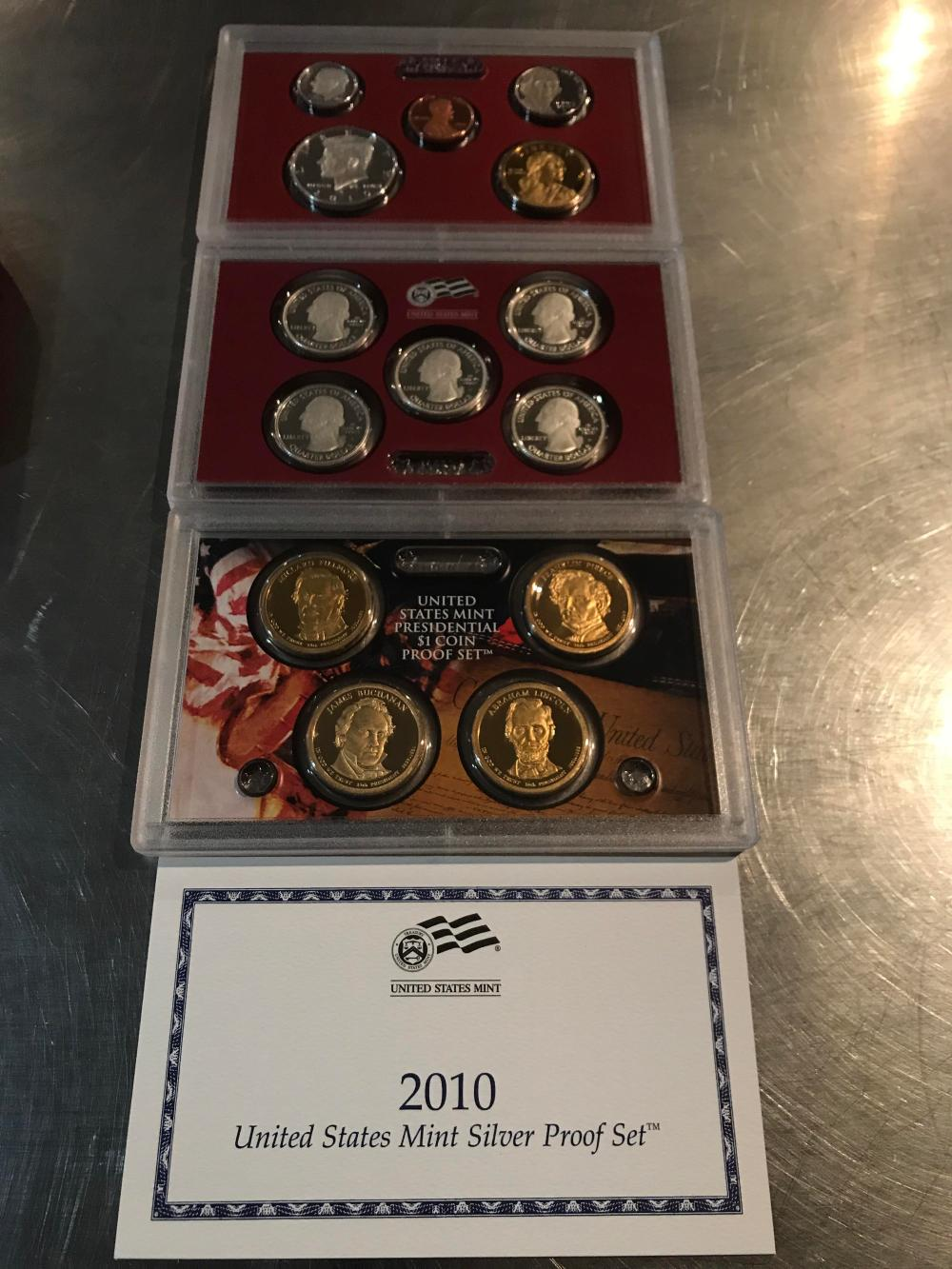 2010 United States meant Silver proof set