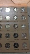 Lot 186: Statehood commemorative quarters sheet