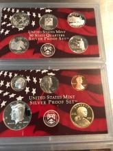 Lot 188: 2008 United States mint Silver proof set