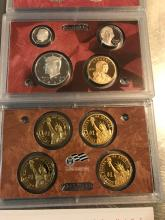 Lot 195: 2009 United States mint Silver proof set