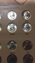 Lot 197: Washington Quarters Sheet