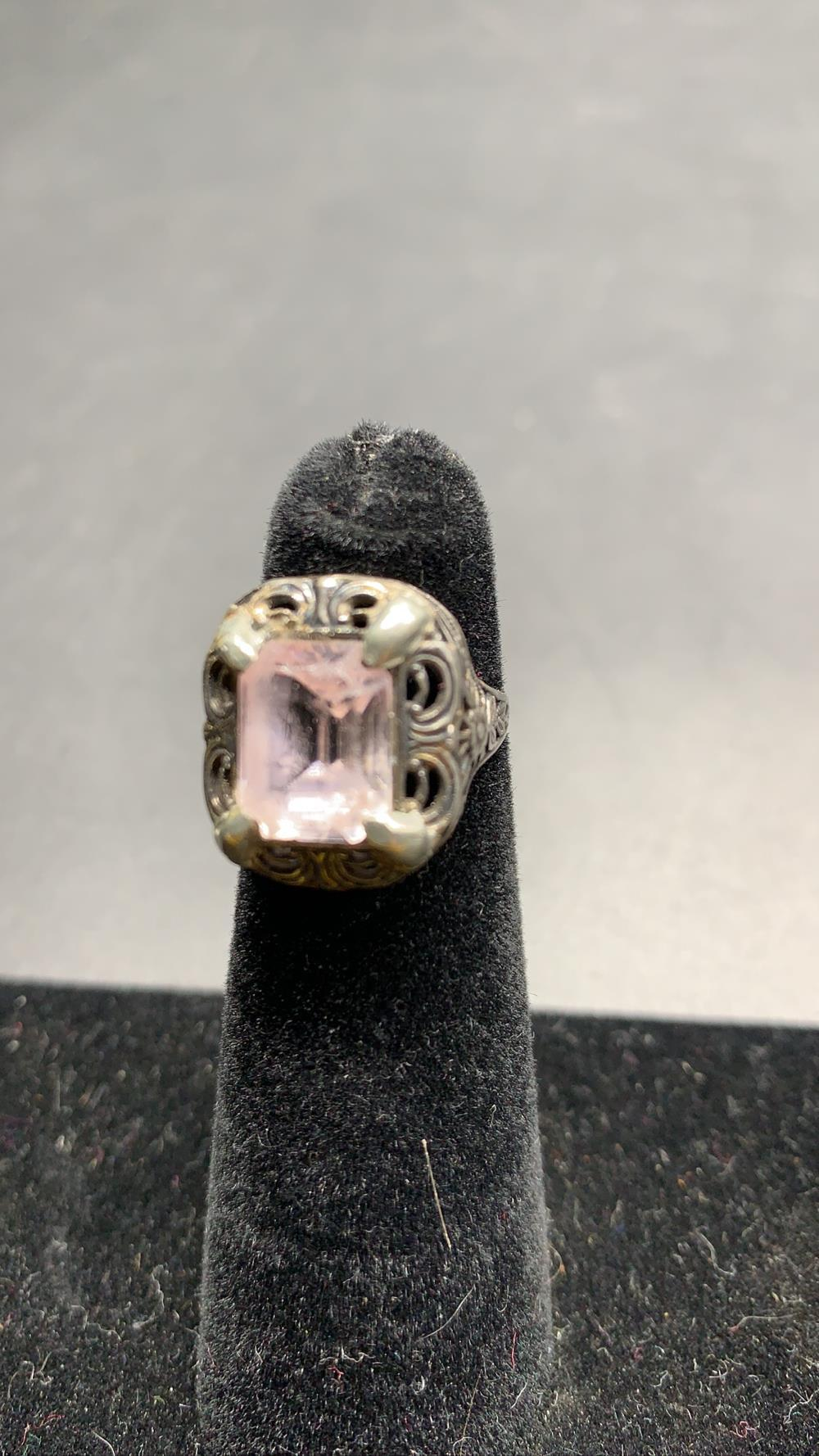 Antique Sterling Rings