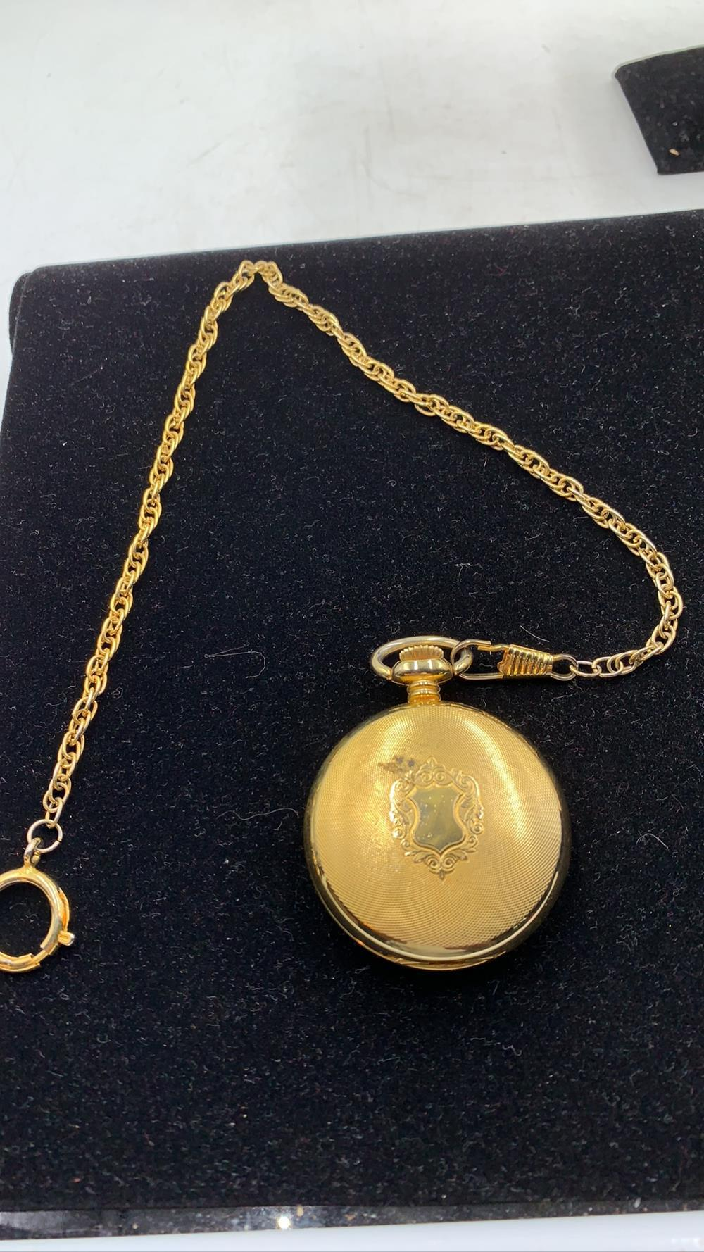 Pocket Watch with Fob