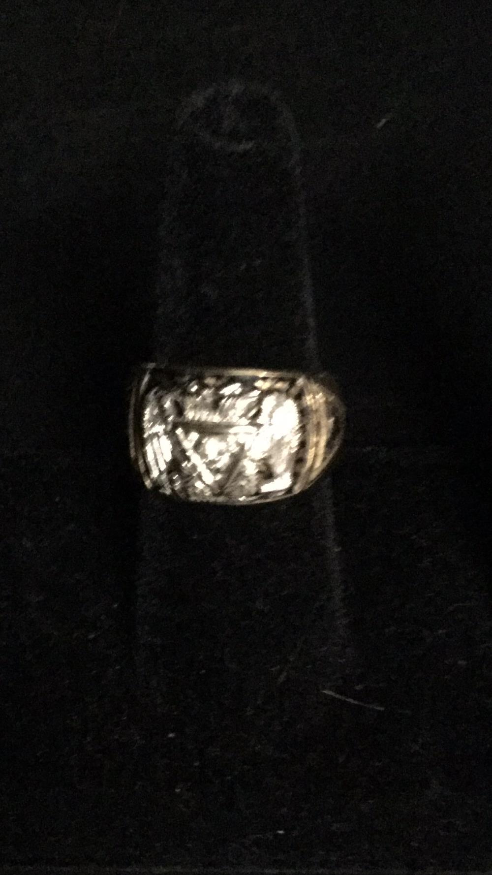 10k men's diamond ring