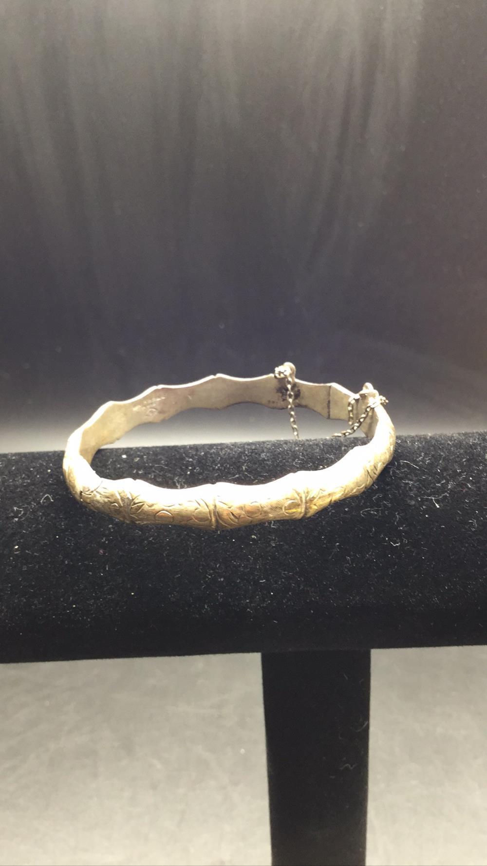 Siam sterling bracelet
