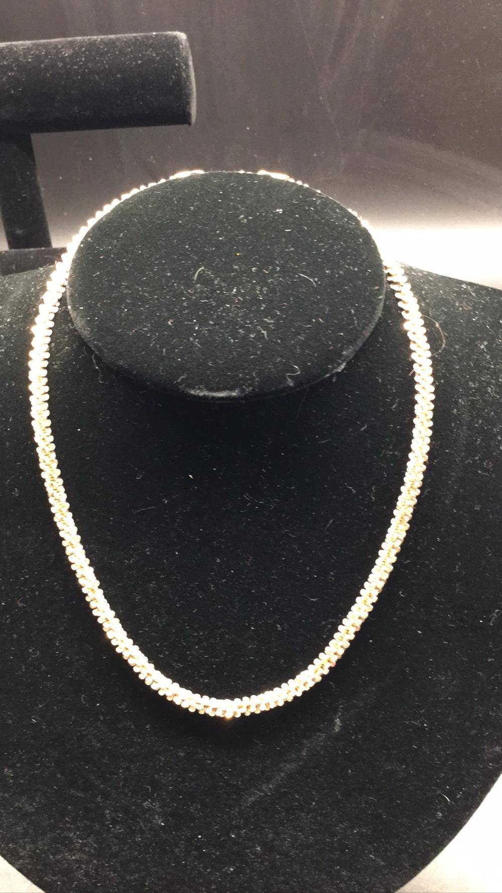 Milor sterling silver chain