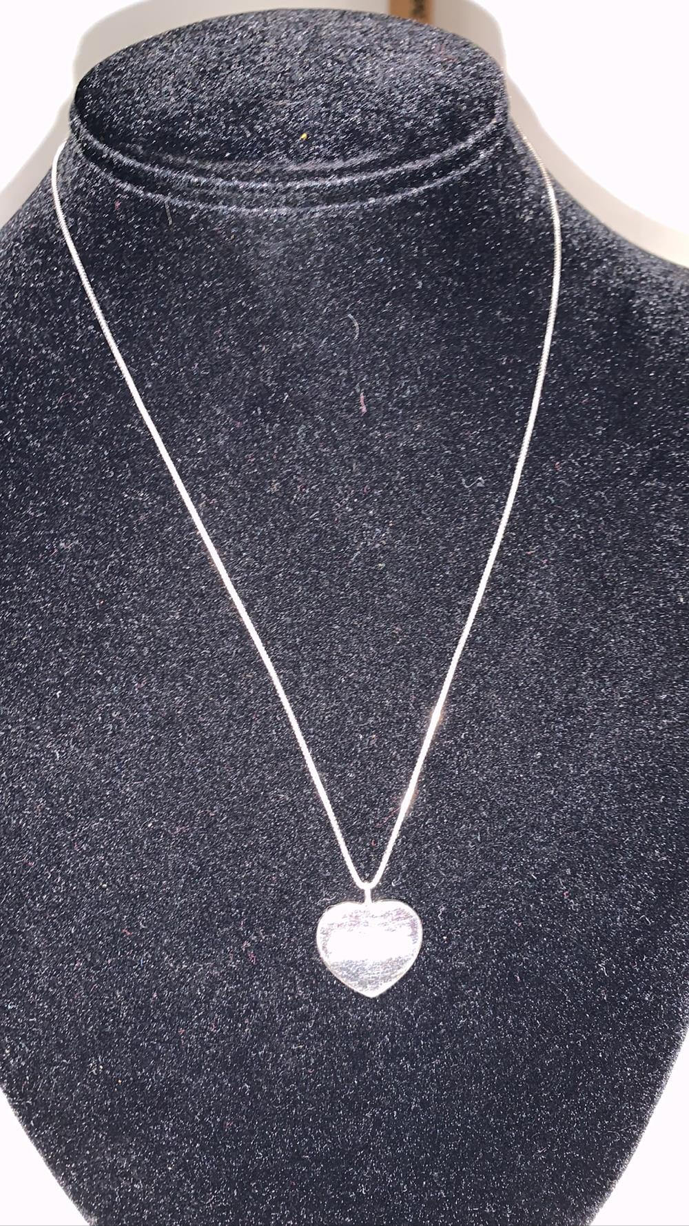 Sterling Silver Necklace With Pendent