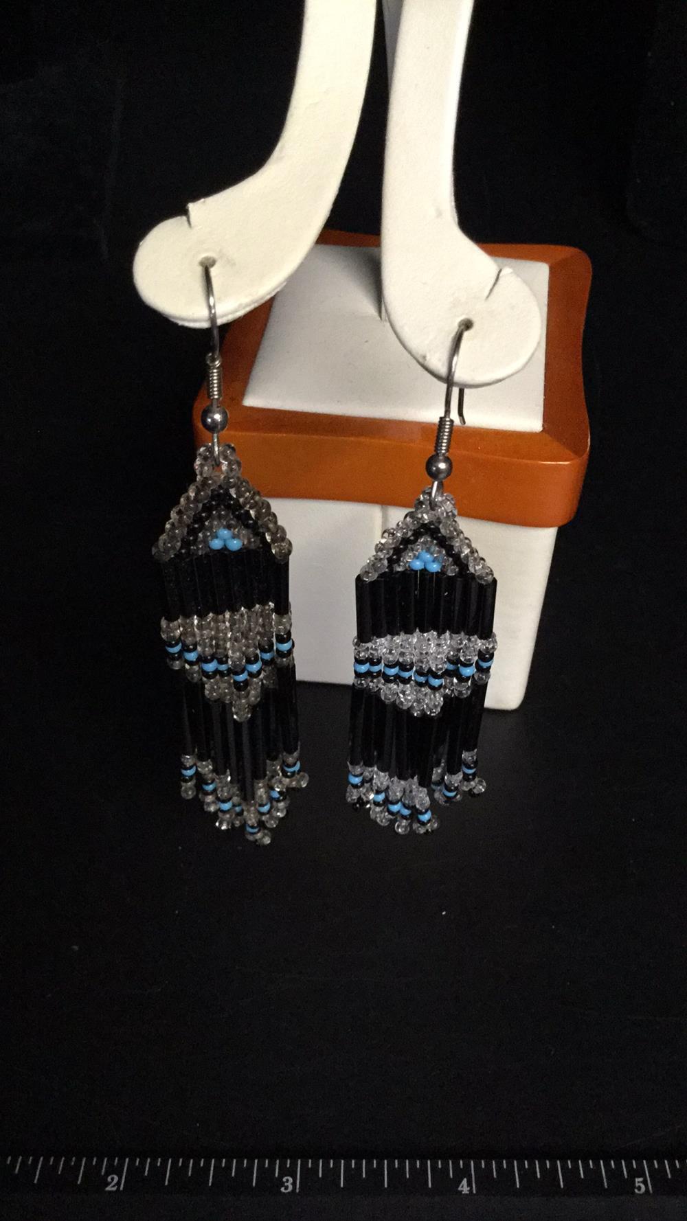 Native bead earrings